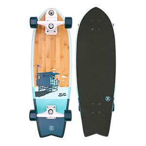 Z-Flex Bamboo Surfskate Fish
