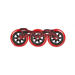 Megacruiser 3x125 Frame set Red
