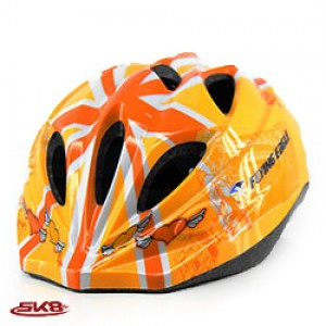 Flying Eagle Helmet Orange