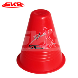 Seba Dual Density Slalom Cone Red