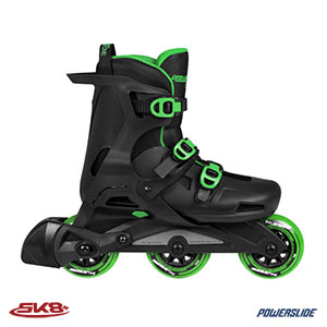 Powerslide wave green 90MM
