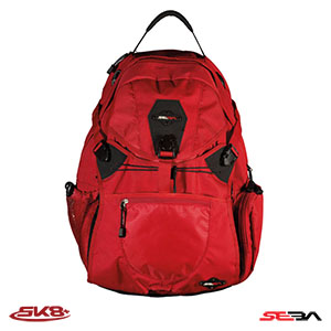 Seba Backpack L Red