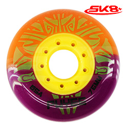 Puyee Wheels Orange-Purple (4wheels)
