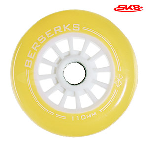 Light Wheels Yellow 110mm (4pcs)