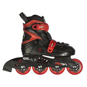 Seba Junior Black/Red