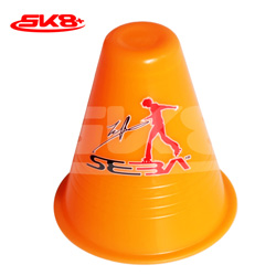 Seba Dual Density Slalom Cone Orange