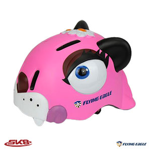 Flying Eagle KT helmet สีชมพู