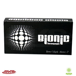 Bionic Abec7 Bearings (16pcs)
