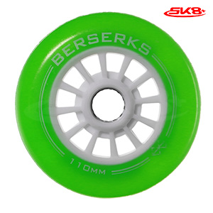 Light Wheels Green 110mm (4pcs)