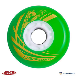Lazer Sliders Wheel Green (4pcs)