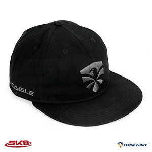 Flying Eagle Snapback Black