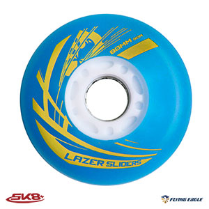 Lazer Slider Wheel Blue (4pcs)