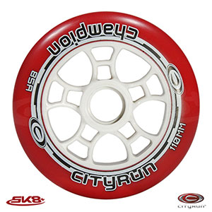 Cityrun Champion Wheels Red (8pcs)