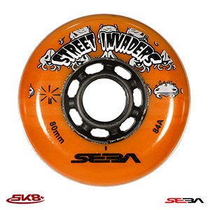 Seba Street Invader Orange