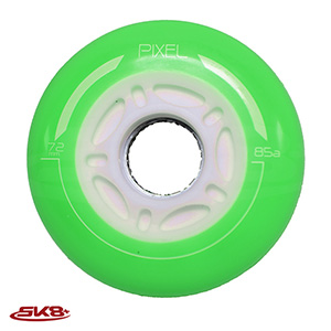 Pixel Light wheel Milky Green (4pcs)