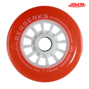 Light Wheels Red 110mm (4pcs)