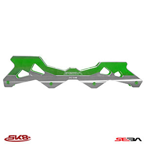 Seba 4D Frames Green (Rockered)