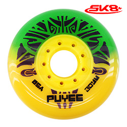 Puyee Wheels Green-Yellow (4wheels)