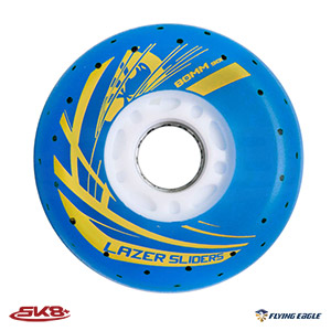 Lazer Sliders Spark Wheel Blue (4pcs)