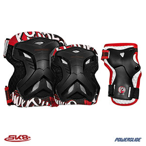 906013 Powerslide Kids Protection Pro Robot Tri-Pack