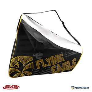Flying Eagle Triangle Skate Bag Yellow