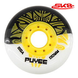 Puyee Wheels White-Black (4wheels)