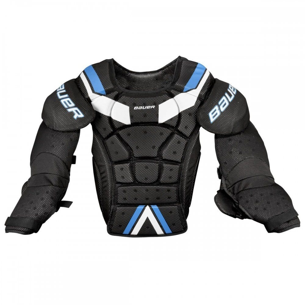 Bauer street hockey chest and arm protector